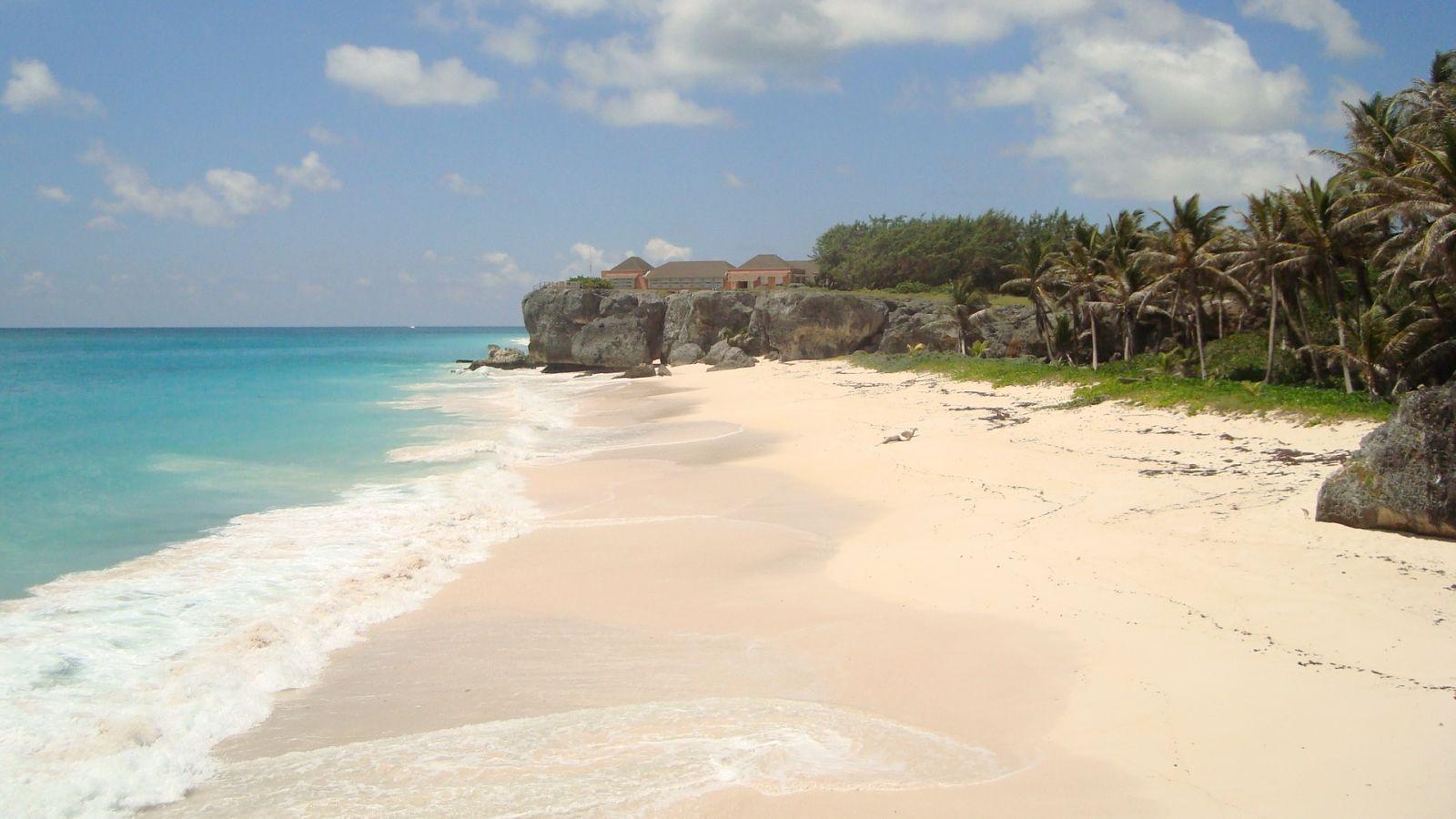 Shark Hole Barbados Shark's Hole Shell Beach